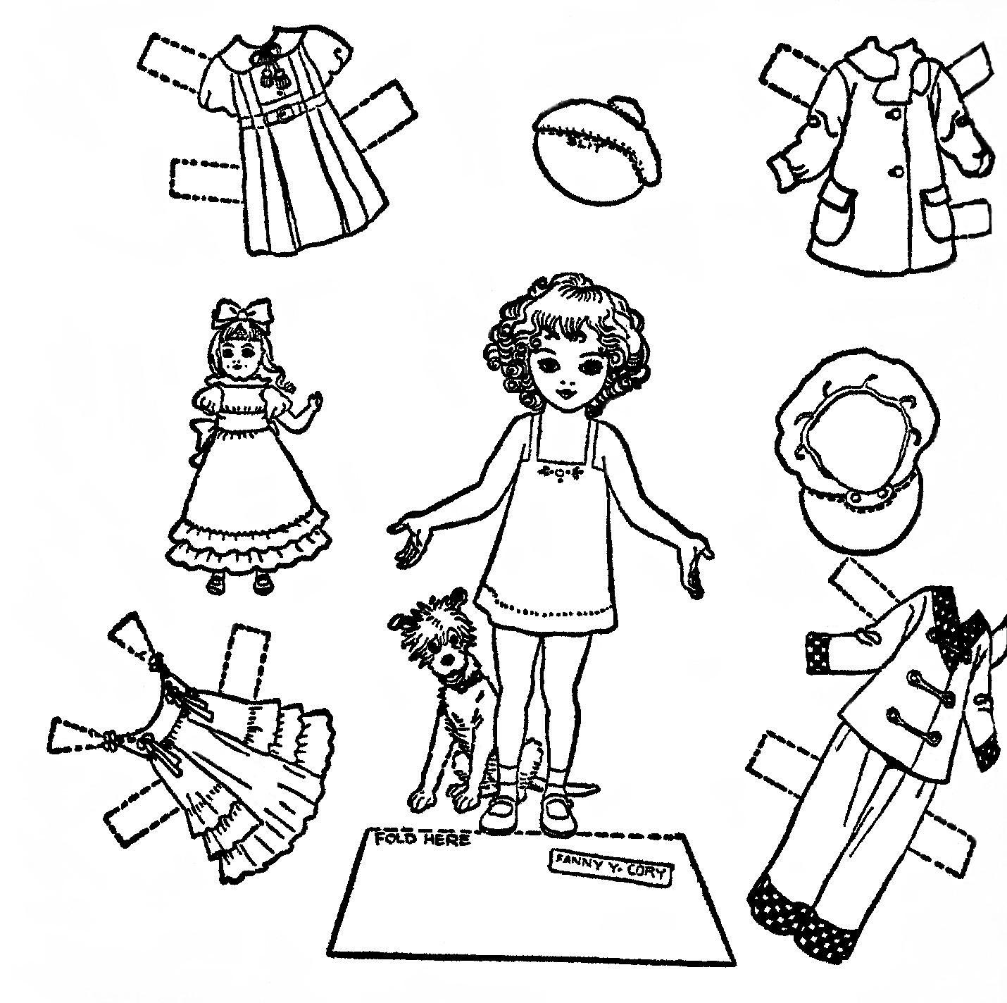 Mostly Paper Dolls September