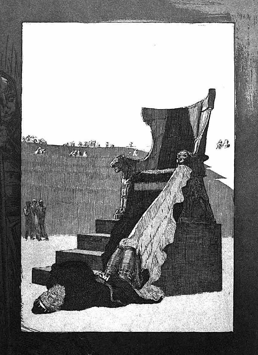 Max Klinger, a fallen king