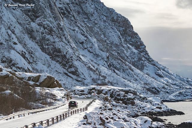 Carretera de Lofoten, por El Guisante Verde Project