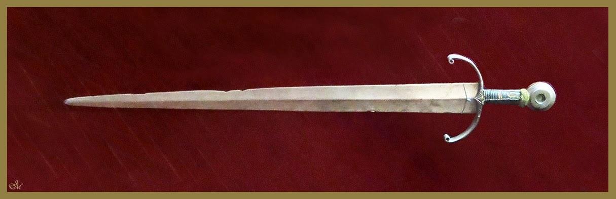 Espada del Conde Ansúrez, Museo de Valladolid