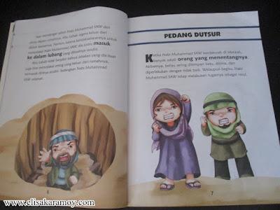 Buku cerita anak Islami Kisah Hebat Nabi Muhammad SAW