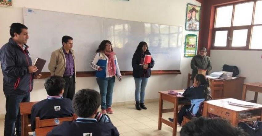 FONDEP visitó escuelas LIE en Celendín y San Miguel - Cajamarca - www.fondep.gob.pe