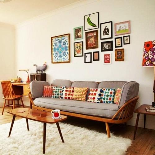 interior design trends 2017 - retro style of the '70s