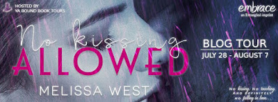 No Kissing Allowed Blog Tour banner