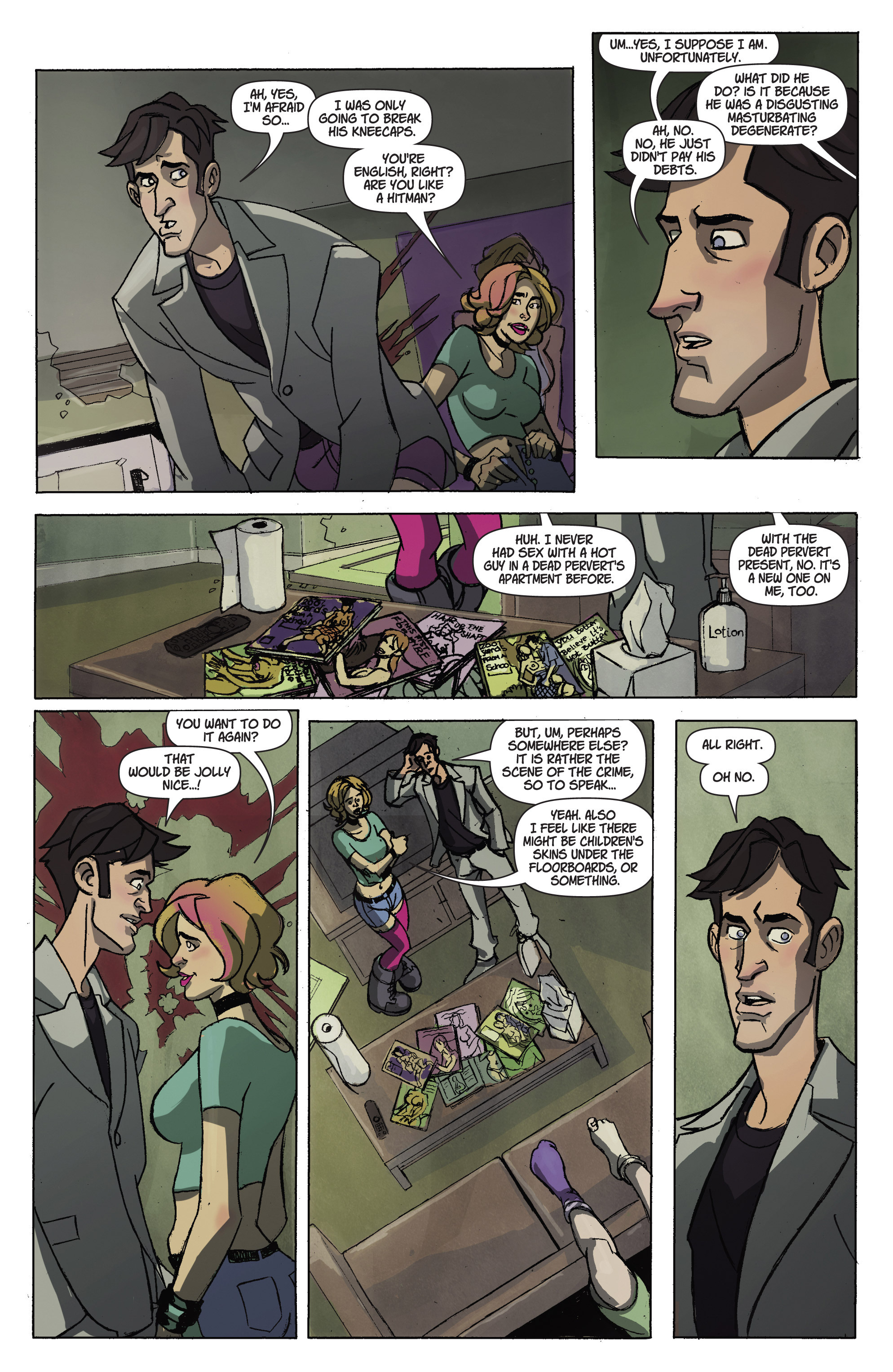 Read online A Train Called Love comic -  Issue #1 - 14