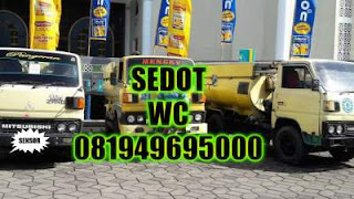 Sedot WC JL Lontar Surabaya