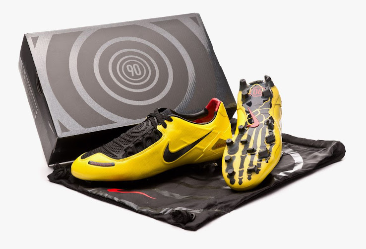 lowest price c8ad4 e0307 Nike Total 90 Laser I 2019 Remake Boots Released - Footy ...