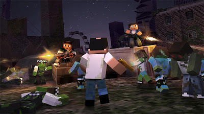Screenshot Gameplay Block City Wars Android Full