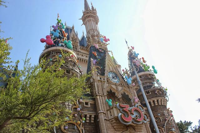 Tokyo Disneyland Disney Castle