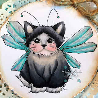 A Day For Daisies Fairy Kitty
