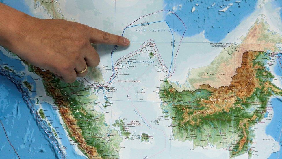 Новые территориальные споры в Азии