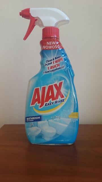 Płyn do czyszczenia Ajax Easy Rinse - Recenzja