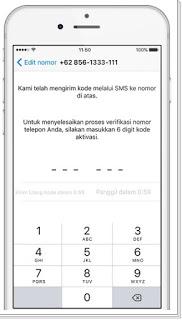 Cara Mendaftar akun whatsapp