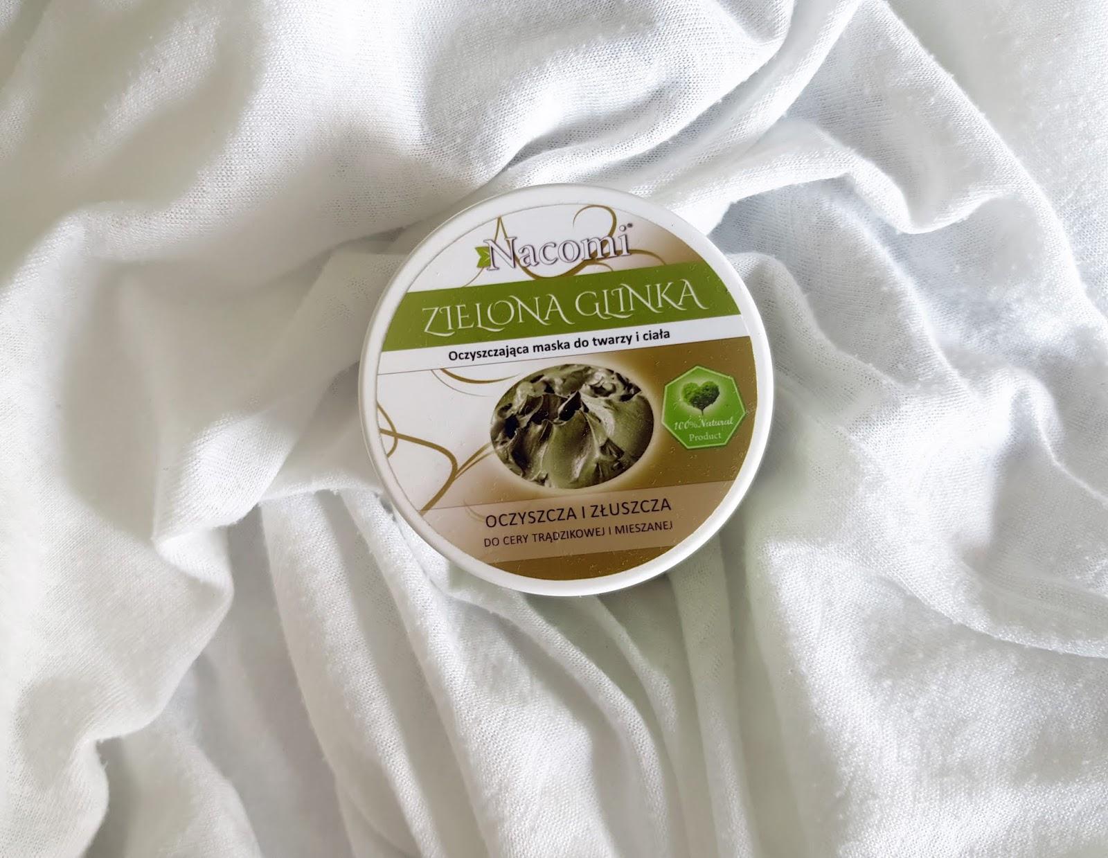 SOS dla trądziku -Zielona Glinka od Nacomi