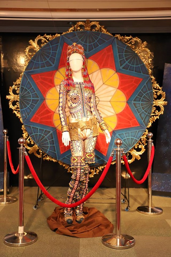 Catriona Gray's national costume set for public viewing on Rizal Day