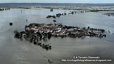 Cheias do Rio Tejo - Reguengo de Alviela