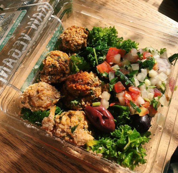 Juice Press Raw Falafel Salad