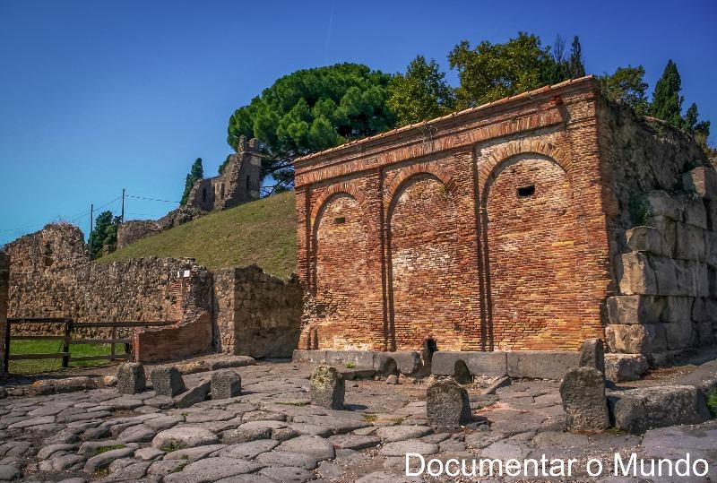 Castellum Aquae, Pompeia, Itália