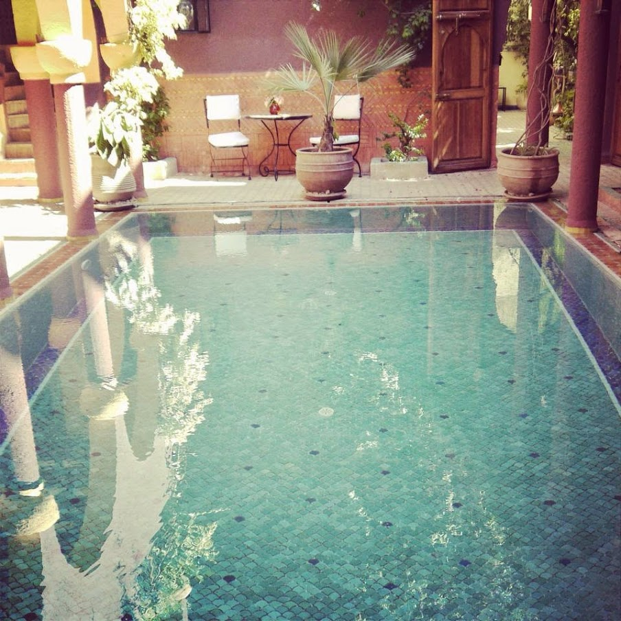 Riad Noga Marrakech Morocco Swimming Pool