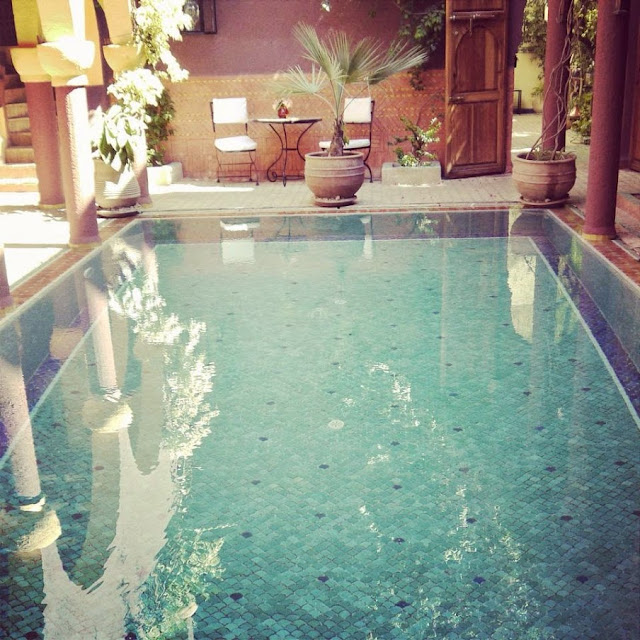 Riad Noga Marrakech Morocco Swimming Pool