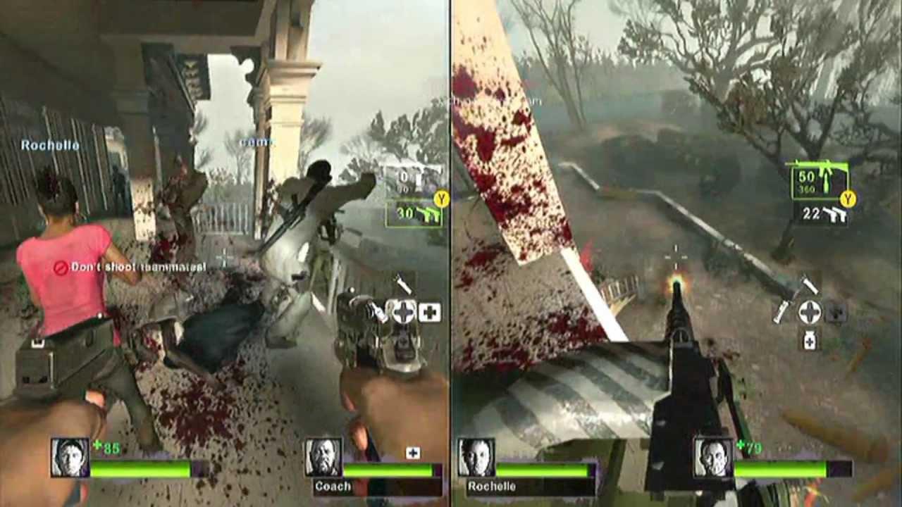 Cara Main Splitscreen 2 Player Left 4 Dead 2 Pc ( Joystick ) - All