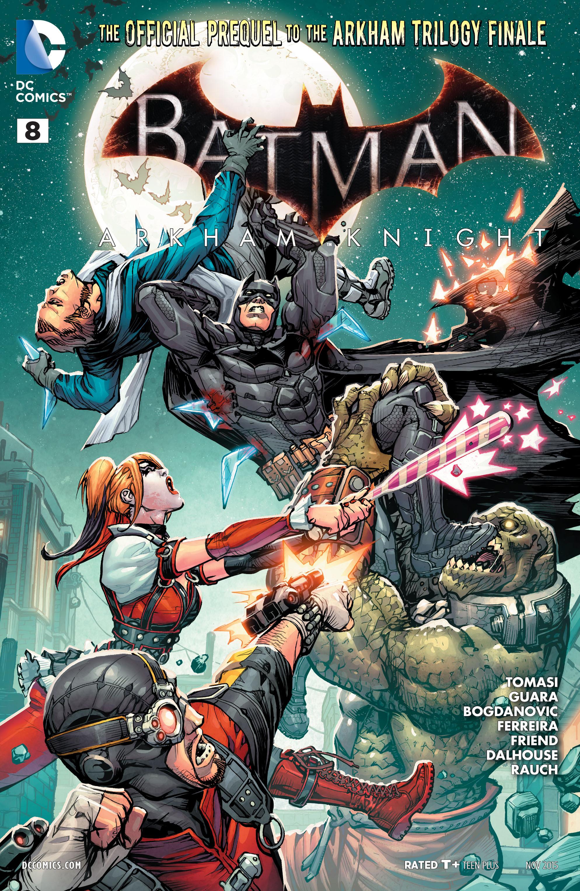 Batman: Arkham Knight [II] 8 Page 1