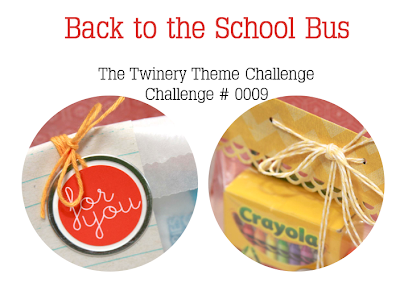 Back to the School Bus Challenge #0009 | Monika Wright for The Twinery