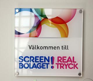 Beställ din skylt från Screenbolaget i Stockholm