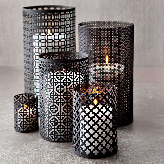 Easy DIY Metal CandleHolders! Halloween, Christmas