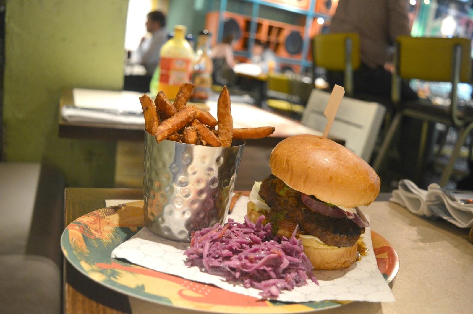 Turtle Bay, Newcastle - New Summer Menu Review - Burger