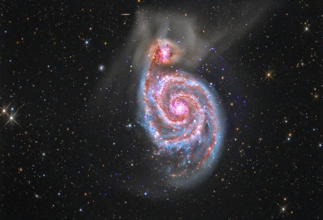 Spiral Galaxy Messier 51
