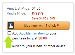 Free Audible audiobook, no sign up necesary