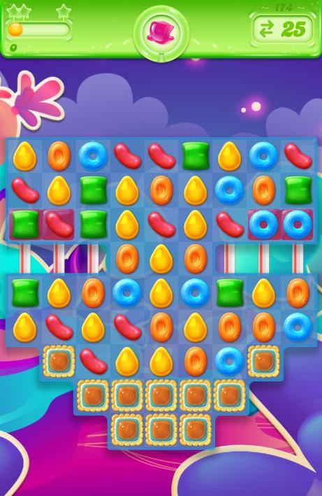 Candy Crush Jelly Saga 174