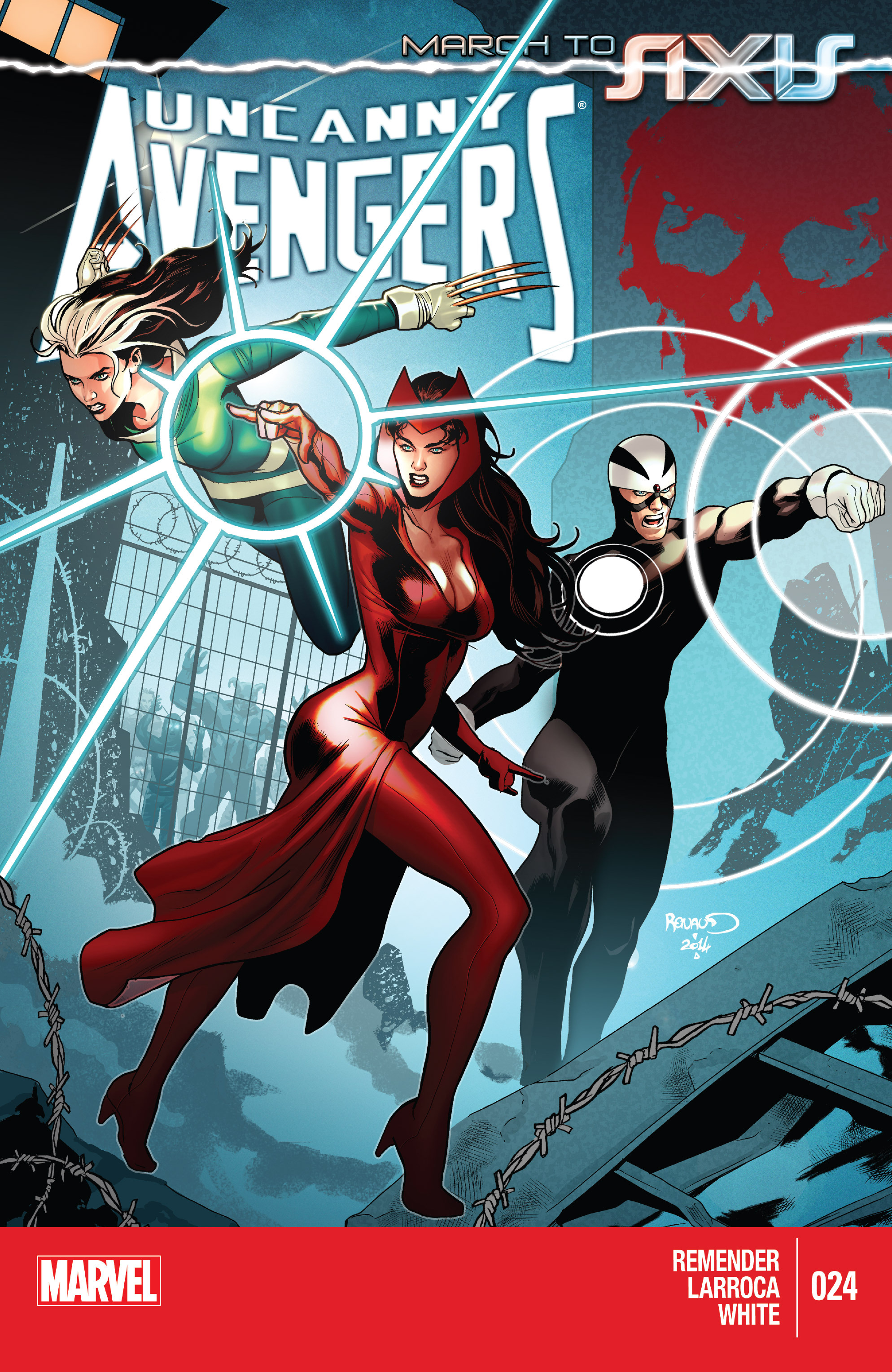 Read online Uncanny Avengers (2012) comic -  Issue #24 - 1