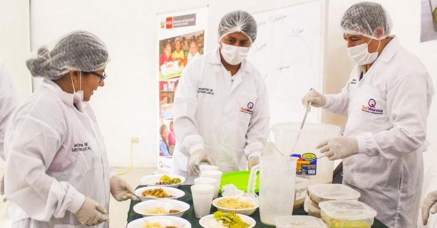QALI WARMA: Mollejitas y sangrecita presentes en la dieta nutritiva de escolares - www.qaliwarma.gob.pe
