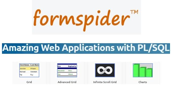 Formspider framework untuk PL/SQL