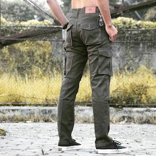 celana cargo, celana cargo panjang, celana cargo hijau