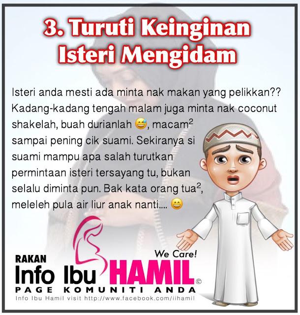 10 Benda Ni Suami Kena Buat Bila Isteri Mengandung