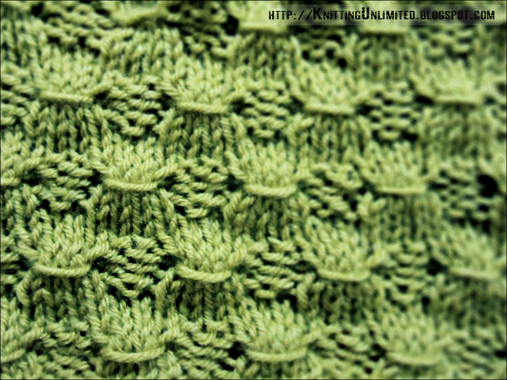 Stitch Patterns Using Knit-Purl Combinations - Knitting Unlimited