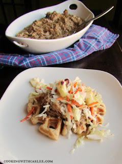 Country Fair Blog Party Blue Ribbon Winner: Cooking with Carlee's Slow Cooker Apple Cider Pulled Pork