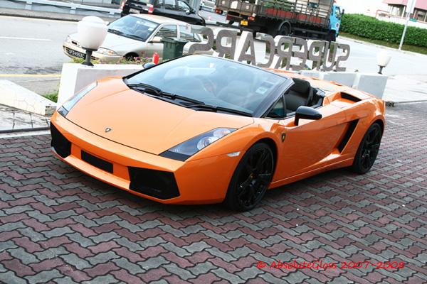 Lamborghini Gallardo Spyder Orange Sport Cars