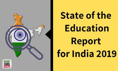 State of the Education Report for India 2019