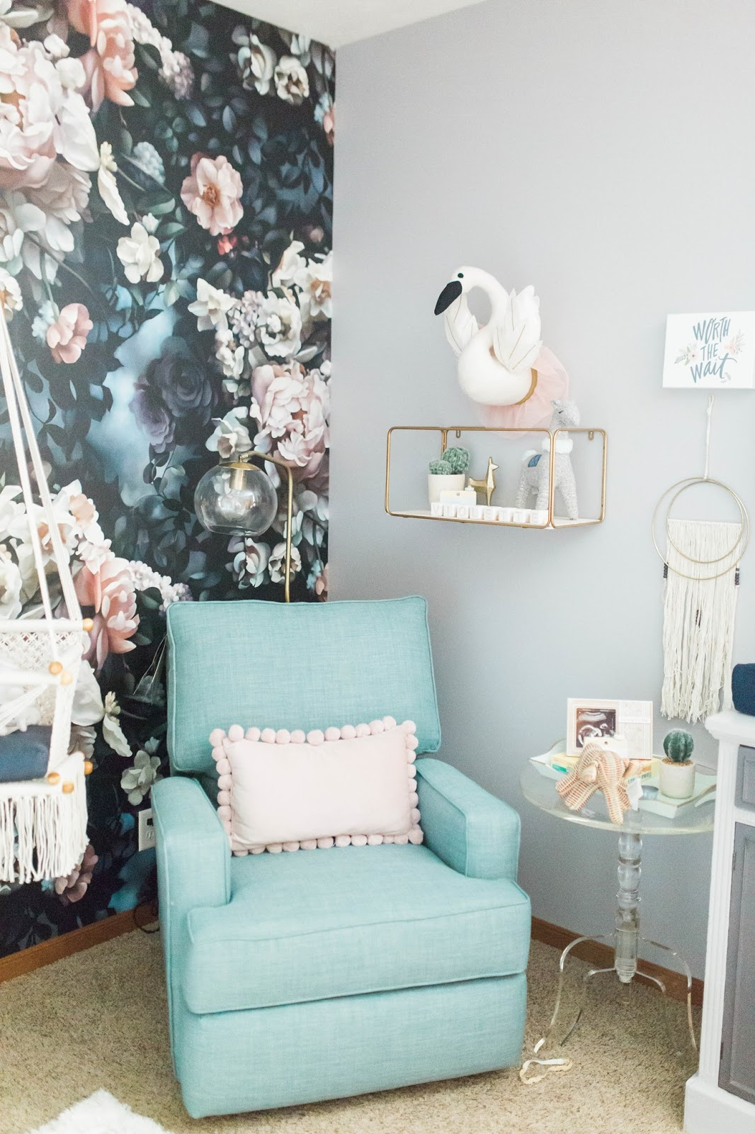 Nice Get ready to develop a nursery crush after viewing this fantastic baby oasis Every square inch is as lovely as they e nurserygoals