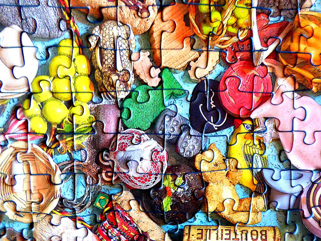 500-piece jigsaw puzzle, Ravensburger jigsaw puzzles