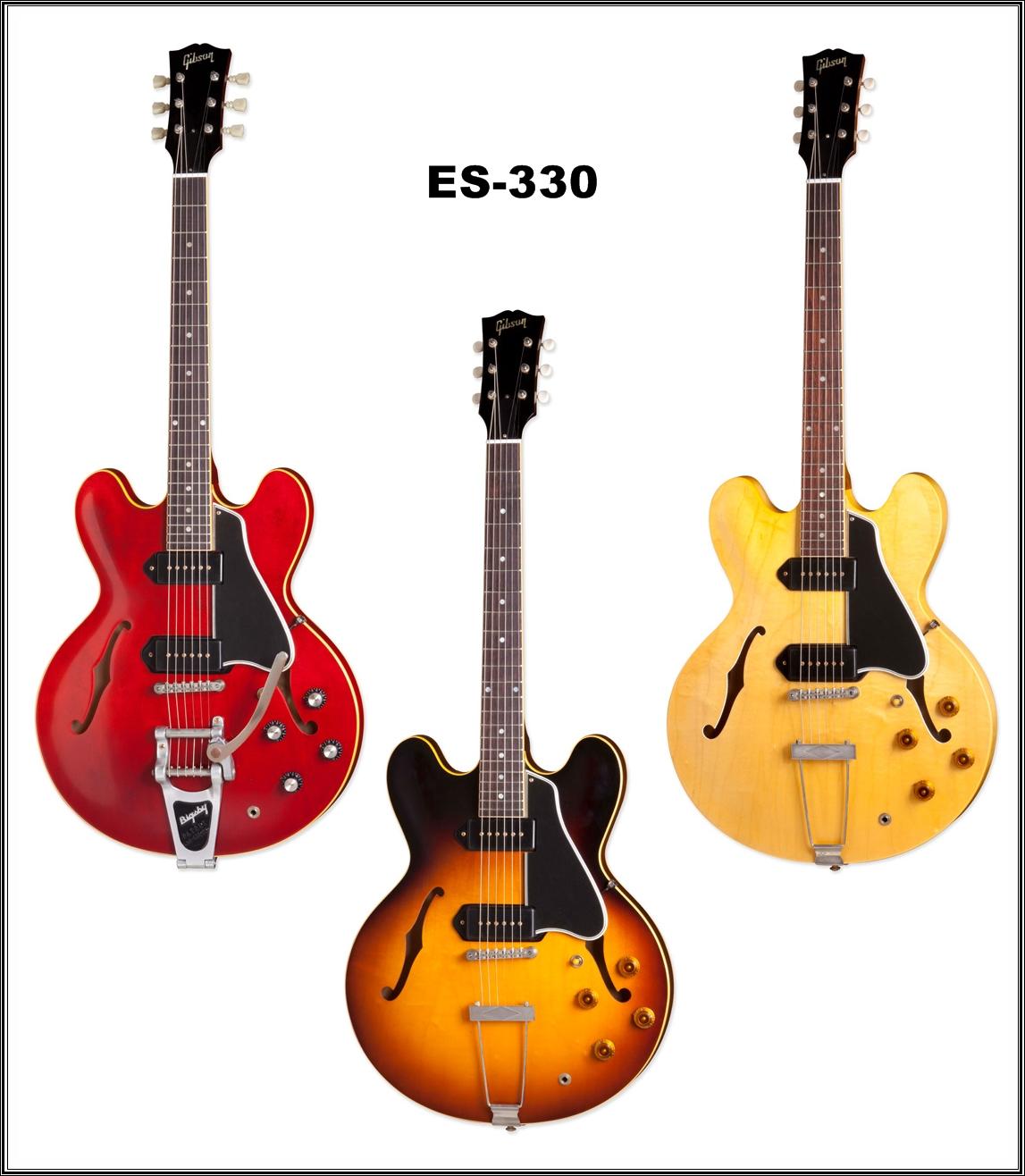 guitars blog the new gibson es 330. Black Bedroom Furniture Sets. Home Design Ideas