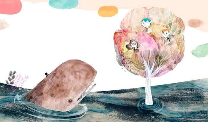 Curso online, introducción a la ilustración infantil