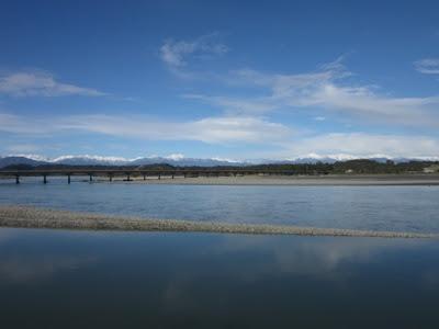 Vistas desde Hokitika, Nueva Zelanda