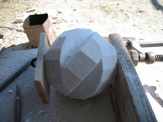 The making of sculpture Rotation3