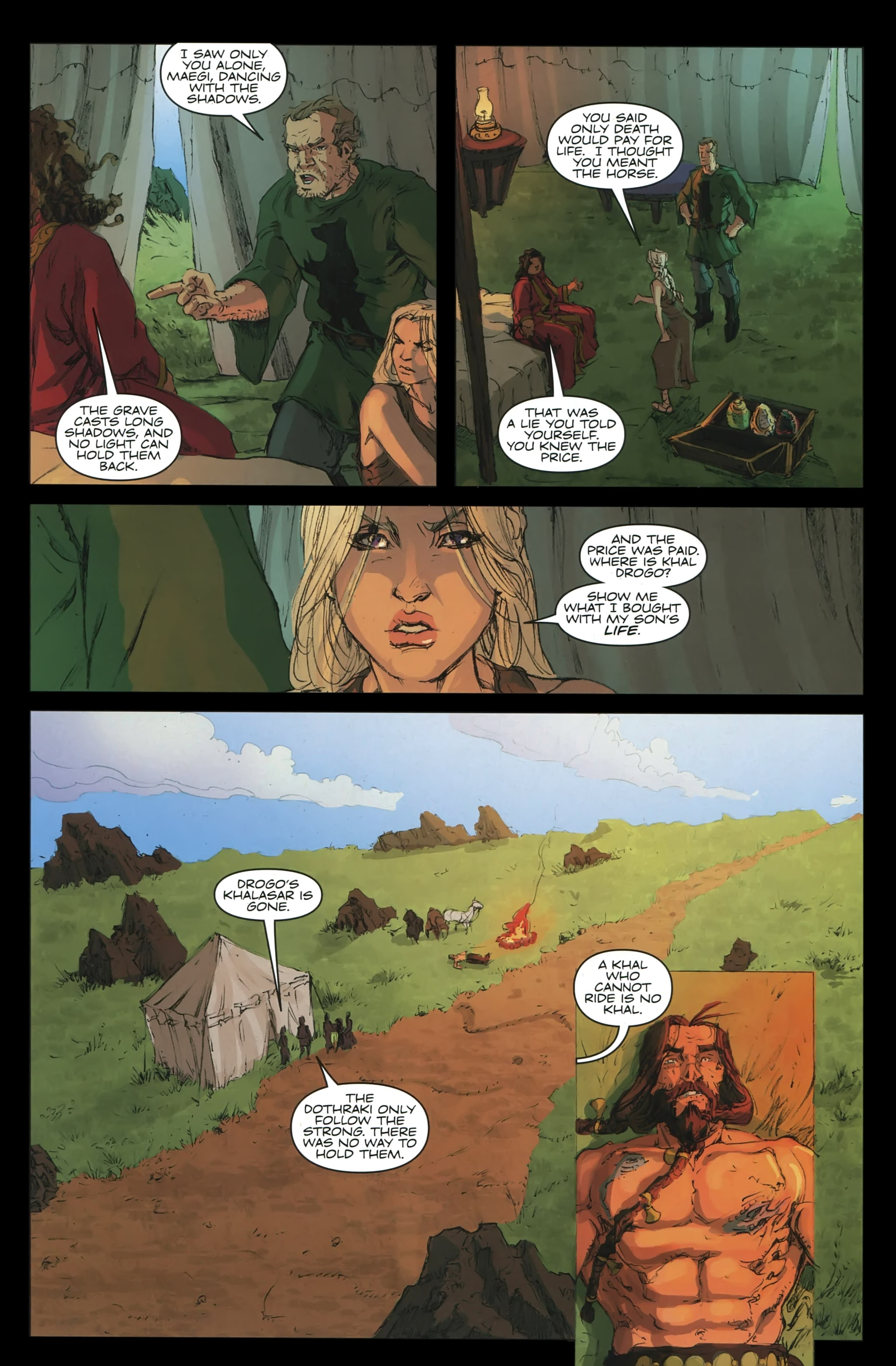 Read online A Game Of Thrones comic -  Issue #23 - 27