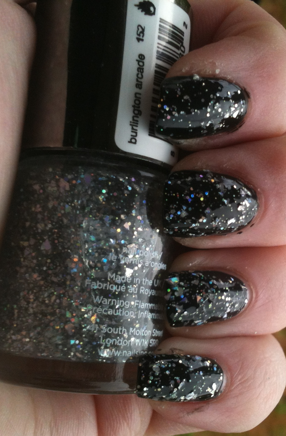 Give Me Polish: Nails Inc Burlington Arcade